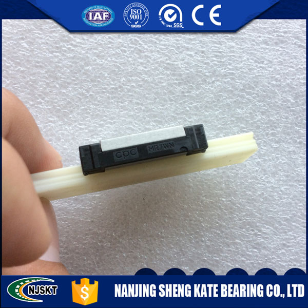 MR7MN CPC linear guide bearing MR7MNSSV0N 7mm linear guide