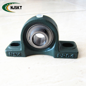Stainless steel/ chrome steel 17mm type UCP203 pillow block bearing