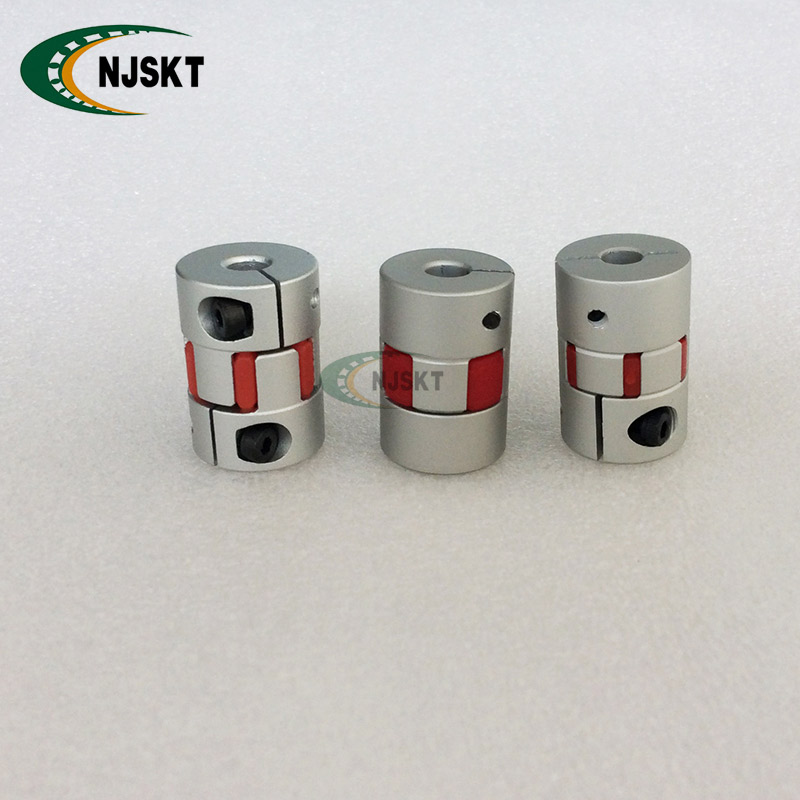 Aluminium Coupling 14X14mm Connector Coupling D55-L68